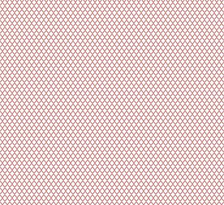 quatrefoil dark red on white - small fabric by misstiina on Spoonflower - custom fabric