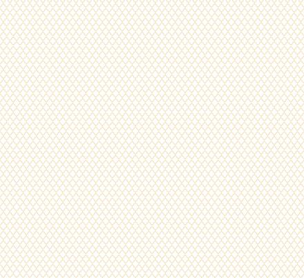 quatrefoil creamy banana on white - small fabric by misstiina on Spoonflower - custom fabric