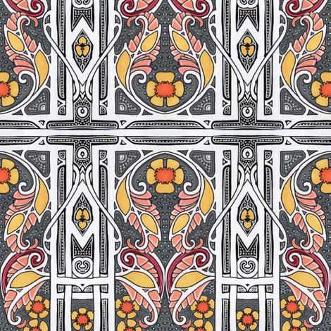 Autumn 1910 fabric by edsel2084 on Spoonflower - custom fabric