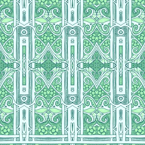 Edwardian Spring Stripe fabric by edsel2084 on Spoonflower - custom fabric