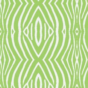 ZEBRA SKIN-green