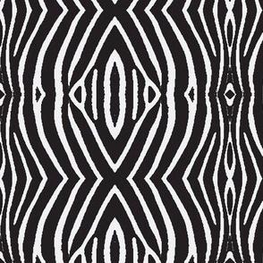 ZEBRA SKIN-black