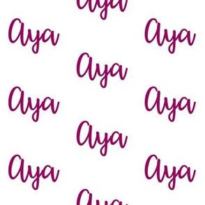 Aya - Orchid