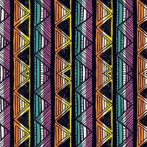African Stripes 6 / Vertical