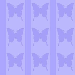 Hydrangea Lilac Butterfly stripe