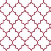 quatrefoil LG berry on white