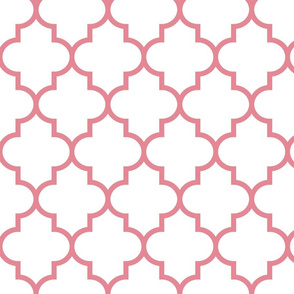 quatrefoil LG berry cream on white