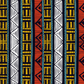 African Stripes 2/ Vertical