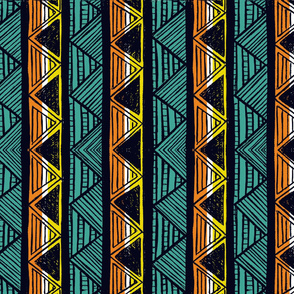 African Stripes 1/ Vertical