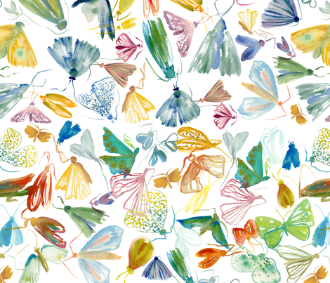 bugsbugsbugs fabric by jaxiemarie on Spoonflower - custom fabric