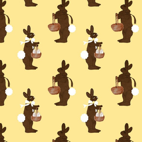 Chocolate Bunnies and Baskets-ch-ch-ch