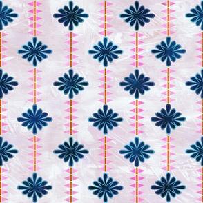 boho basic flower stripe 05b