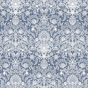 lace (blue and gray)