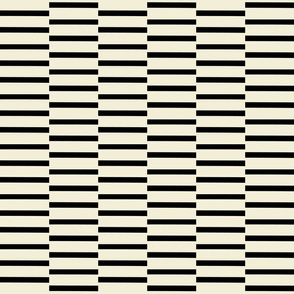 binding stripes, black-c