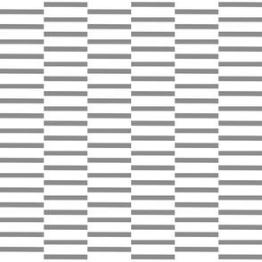 binding stripes, grey-w