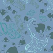 stingray & squids [1]
