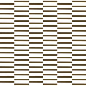 binding stripes, brown-w