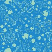 stingray & squids [2]