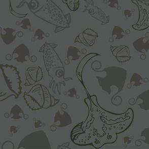 stingray & squids [5]
