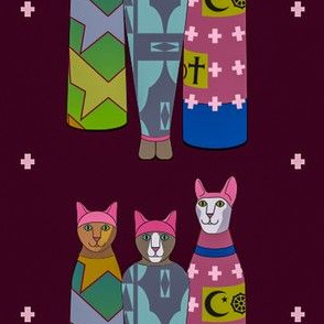 Pink Pussy Hat Cat Mummies