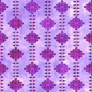 boho basic flower stripe 05d