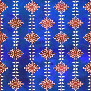 boho basic flower stripe 05e