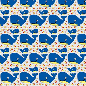 fish and whale on grey-ch-ch