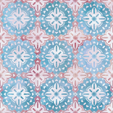 BohoBasic Medallion Baby fabric by schatzibrown on Spoonflower - custom fabric