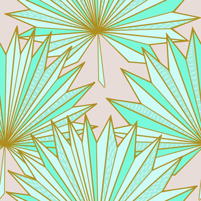 Fan Ori-palm N1 (almost mauve)