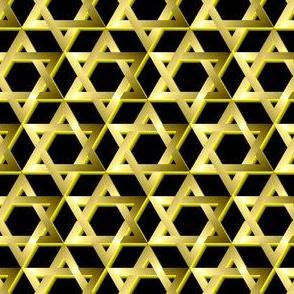 Mogen David, Gold, 3D
