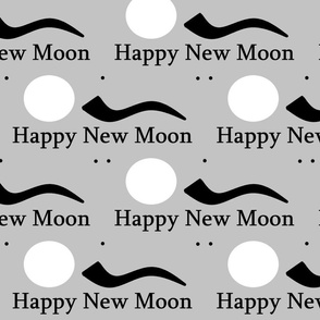 Happy new moon