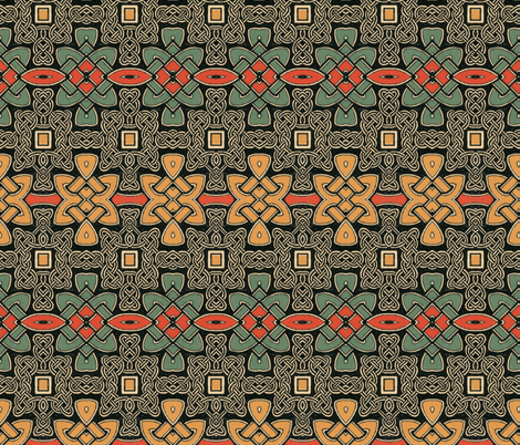 celtic 55 fabric by hypersphere on Spoonflower - custom fabric