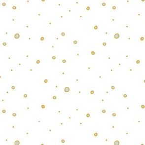 Polka Dots on White