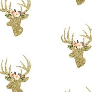 Glitzy Crown Deer