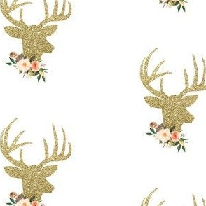 Glitzy Collar Deer