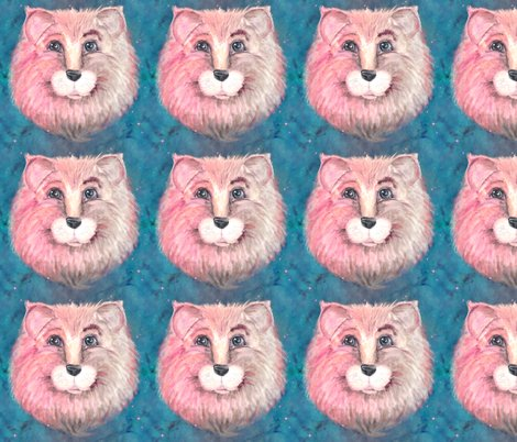 Rthe-pink-feline-lion-cat-on-turquoise-blue-by-paysmage_shop_preview