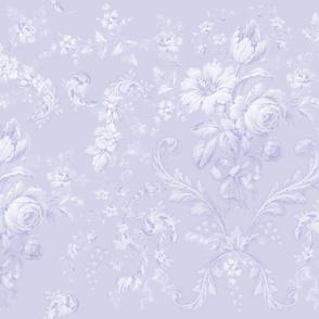 Faded Rococo blue violet