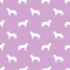 australian cattle dog pet quilt c cheater quilt silhouette coordinate fabric