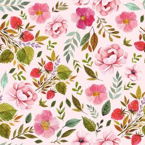 "36"" Strawberry Fields - Blush"