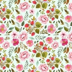 """4"""" Strawberry Fields - Minty Green"""