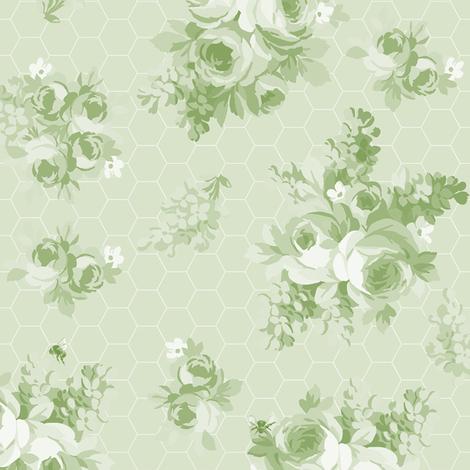 Prue basil fabric by lilyoake on Spoonflower - custom fabric