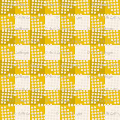 seville_gingham_yellow large