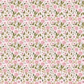 "1.5"" Strawberry Fields Roses - Blush"