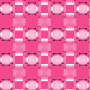 White Ovals on Hot Pink