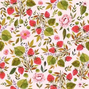 "8"" Strawberry Fields Too - Blush"