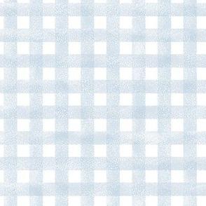 safari coordinates quilt blue and white check nursery