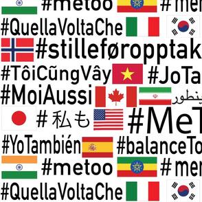 #metoo around the world