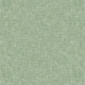 solid light sage green linen