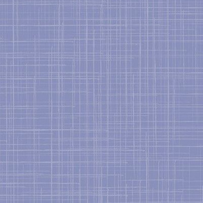 Linen Solid Pastel Plume Purple Texture  || Large Scale Woven White _ Miss Chiff Designs