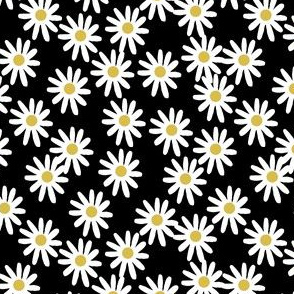 507a9863644b6e daisy // daisies flowers florals flower black and white simple 90s design